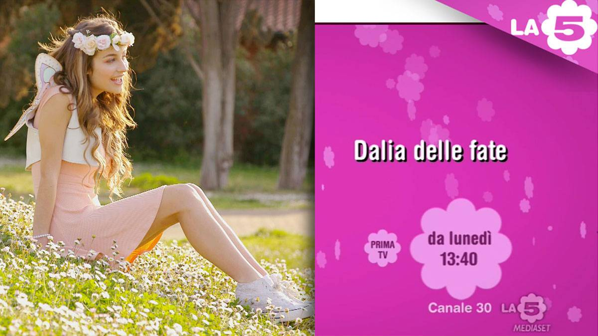 """Dalia delle fate"" coming soon to channel La5"